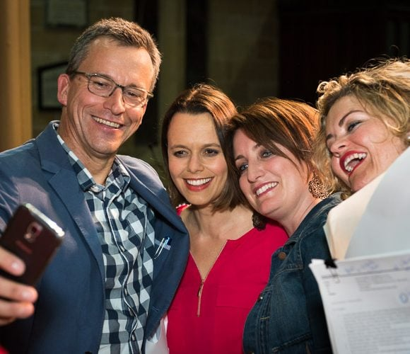 Selfie Event photography - guests taking a selfie